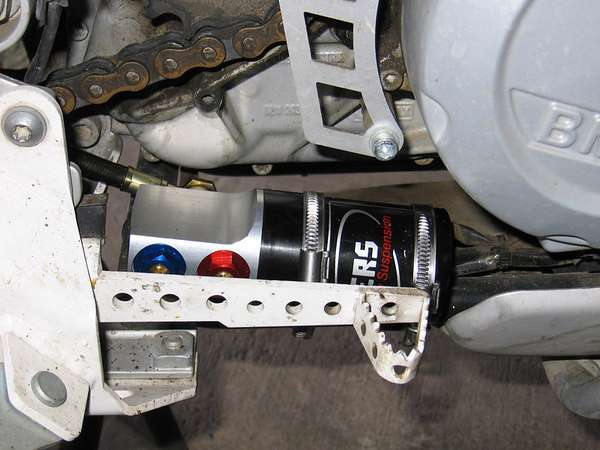 F650 (Classic and GS) Rear Shock Installation