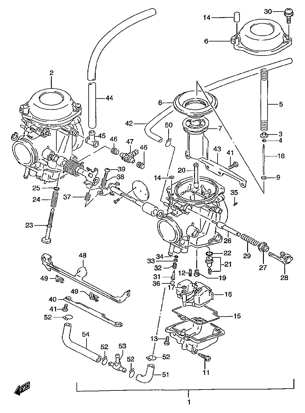 F650 Engine Diagram Wiring Library 1998 Ford Taurus Fuse Box Gs500ecarburetorv97 W98 X99 Y
