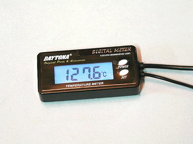 Motorcycle Coolant Temperature Gauge