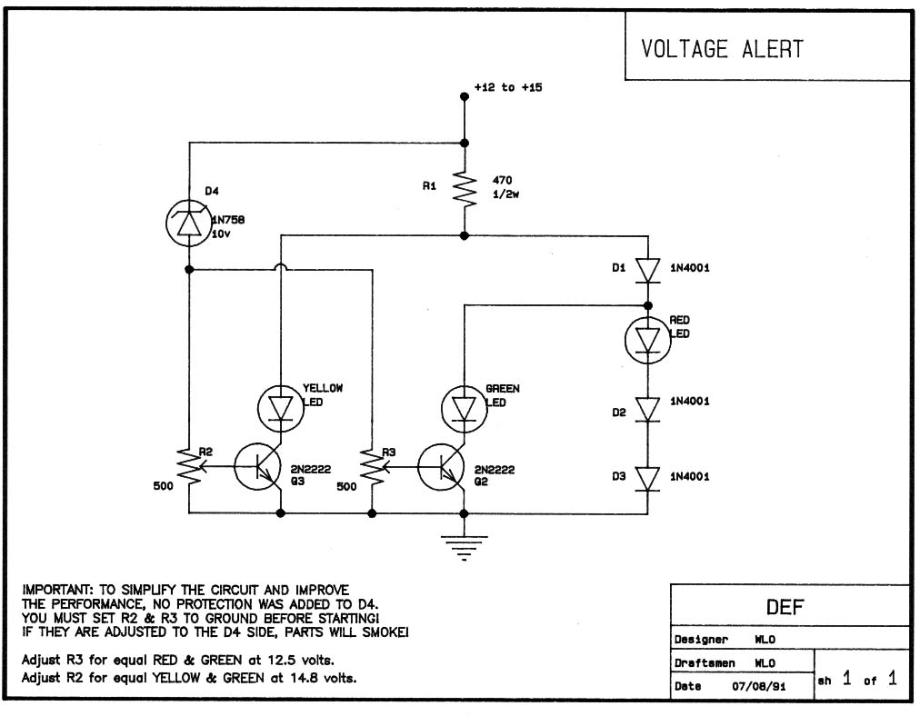 Voltmeter Faq Basic Motorcycle Wiring Diagram How About This Easier To Build And Mount Circuit