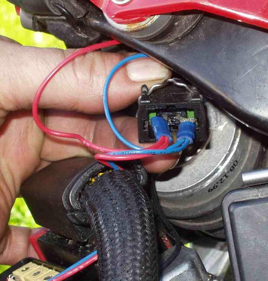 Fuel Nanny Faq 01 Ford F650 Throttle Wiring I Will Try To Find Both The Male And Female Original Connectors As Used On Bike With Those Could Make A Real Nice Extension Wire Hook Up Fn